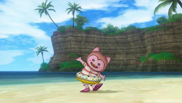 島で水着になるぷくみ