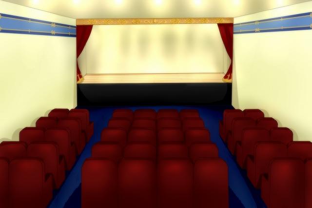 グランゼドーラ劇場の通常の会場