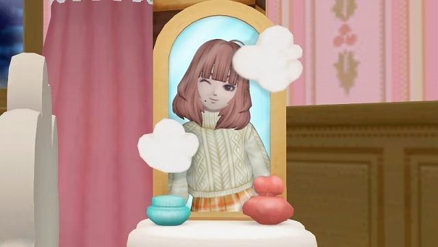 鏡でキメるぷくみ