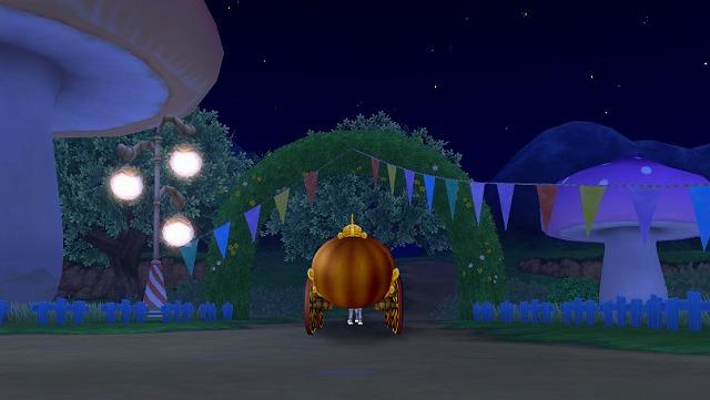 かぼちゃの馬車で出発2