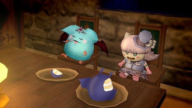 ドラキーケーキを食べるカフェもか