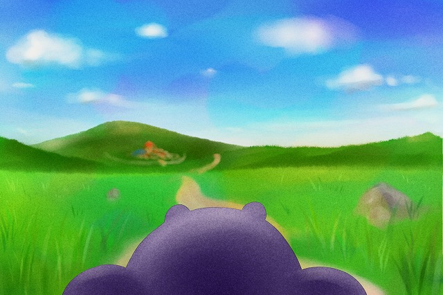 大草原でひとりぼっち
