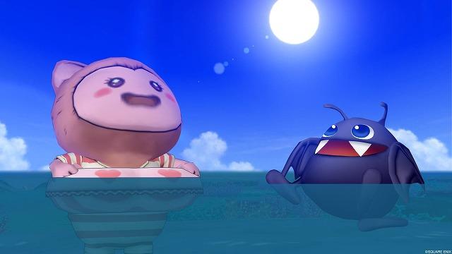 泳ぐぷくみ達2