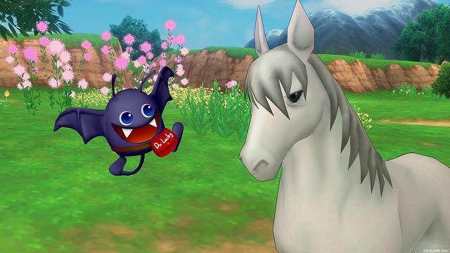 馬と話すラッキー
