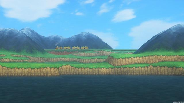 大陸間鉄道が見える風景